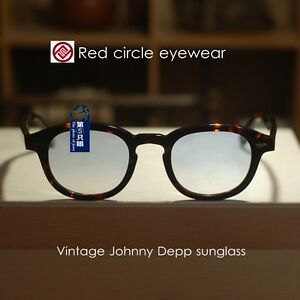 f029186f5cc4 Image is loading Retro-Vintage-Johnny-Depp-sunglasses-men-tortoise-frame-