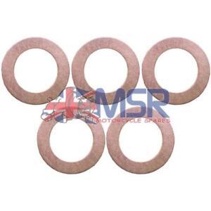 Copper-Sealing-Washer-For-Banjo-Bolt-M10-x-1mm-5-PACK