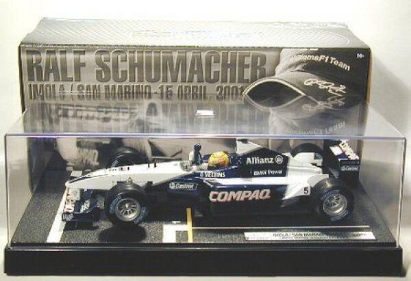 Williams Ralf schumacher-sondermodell-erster Fórmula 1 GRAND PRIX PRIX PRIX VICTORIA c10286