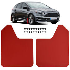 Xukey Universal Red Mud Flaps Mudguards Splash Guards For Car Pickup Van Truck Fits Toyota