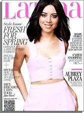 Latina - 2014, March - Aubrey Plaza, Rosie Perez, The No-Makeup Look, Que Rico!
