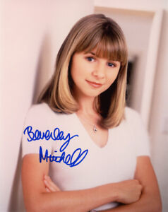 BEVERLY MITCHELL SIGNED AUTOGRAPHED 8x10 PHOTO EARLY FULL SIGNATURE BECKETT BAS