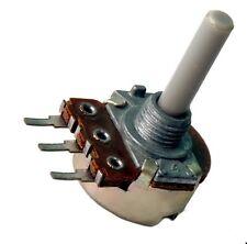 Potentiometer 470K Ohm /Ω, 0,25Watt, linear, Achse 4mm, Kunststoff, Poti, 1St.