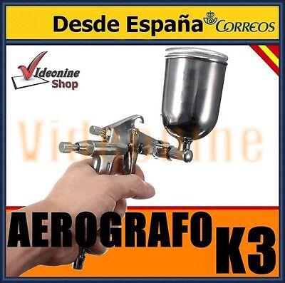 AEROGRAFO K3 PISTOLA DE PINTAR PROFESIONAL