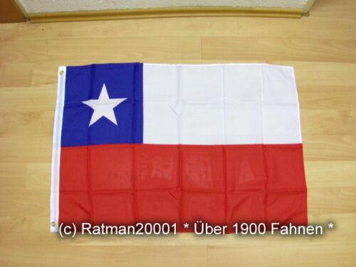 60 x 90 cm Fahnen Flagge Chile