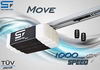 Schartec Garagentorantrieb Move 1000 Speed Mit Schiene 2 X Handsender Torantrieb