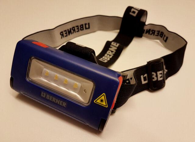 Berner Lampen Led : Berner led professionell stirnlampe batterie taschenlampe