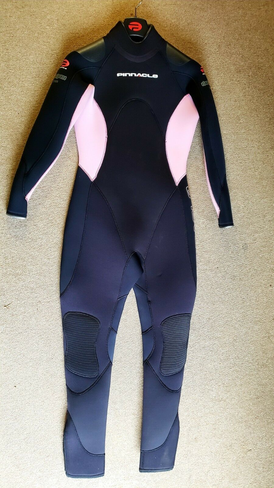 New Pinnacle Aquatics Elastiprene 5mm Suit  (Female-Pink-Large)  to provide you with a pleasant online shopping