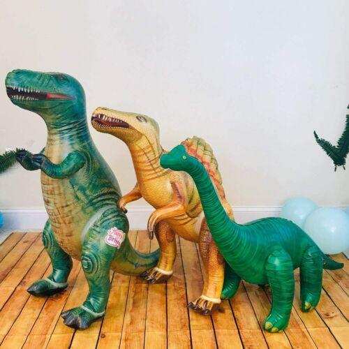 Jet Creations Tyrannosaurus Brachiosaurus Spinosaurus Inflatable Dino Party Toys