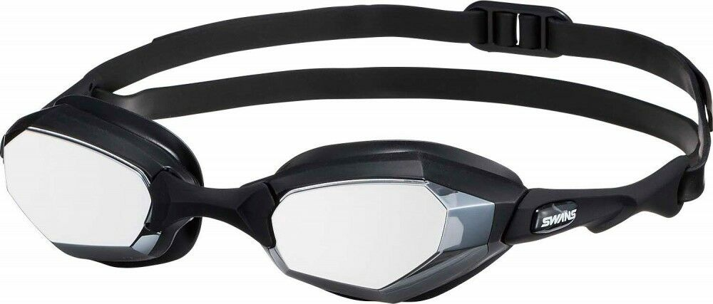SWANS competitive swimming goggles WARRIOR mirror lens FINA