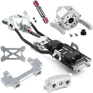 313mm-Radstand-Rahmen-Chassis-fuer-1-10-RC-Auto-Axial-SCX10-II-90046-Crawler-Car