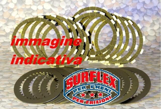 Disques D 'em Brayage Garnis + Nus KTM Mx 125 1990-1991 Surflex