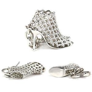 AM-AM-EG-Popular-Rhinestone-High-Heel-Shoe-Key-Chain-Keyring-Creative-Bag-Orn