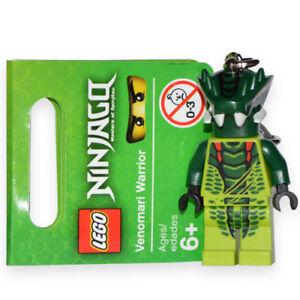 New Lego Keychain Ninjago Venomari Warrior Mini Figure Fig Minifig Minifigure