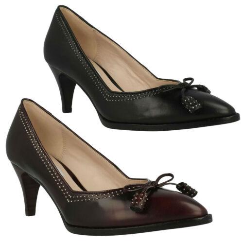 slip pumps Ancient Clarks on Bombay Dames Classic Slimme lederen elegante zqPUS