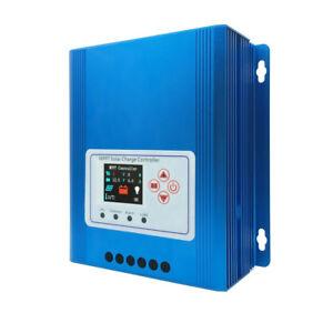 Details about TFT LCD 40A/60A 12V/24V/48V MPPT Solar Panel Controller  Charge Regulator 3600W