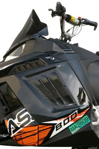 POLARIS Pro RMK //Assault Snowmobile Vents PDP PREMIUM Middle Vent Kit BLK 2011