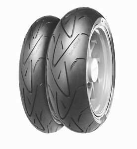 MOTORCYCLE Tyres CONTI SPORT ATTACK 12070ZR17 amp 19050ZR17 BMW UK Supplier - <span itemprop='availableAtOrFrom'>Telford, Shropshire, United Kingdom</span> - You may return the goods back to us within 14 days of receipt of delivery. Should you wish to do this the items must be returned undamged. You are responible for any costs in  - Telford, Shropshire, United Kingdom