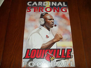 Louisville Cardinals Football Schedule Posters - Different ...