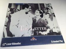 The Letter Rare Sealed Laserdisc 1940 Bette Davis OOP HTF William Wyler Classic