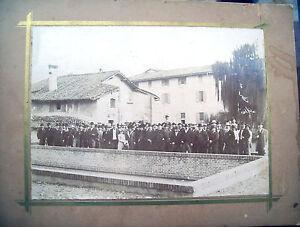 1890-GRANAROLO-FAENTINO-ECCEZ-FOTOGRAFIA-CON-GRUPPO-DAVANTI-A-CANALE-NAVIGLIO
