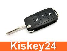 3T Ersatz Neu Klappschlüssel Fernbedienung Gehäuse Schlüssel für VW Skoda Seat