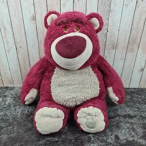 Disney Store Stamped Toy Story Lotso Bear Strawberry Scented Medium Soft Plush