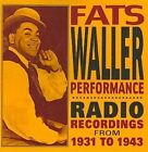 Performance 030206182620 by Fats Waller CD