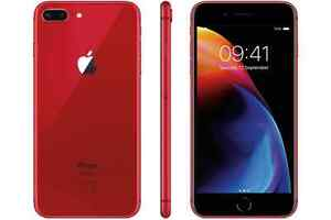 "Paypal Apple iPhone8+ 8 plus 256gb 5.5"" Red Latest Smartphone Cod Agsbeagle"