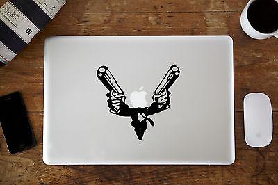 "Suit with Guns Vinyl Decal for Apple MacBook Air/Pro Laptop 11"" 12"" 13"" 15"""