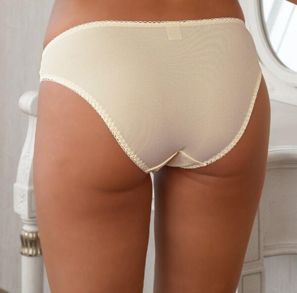 Slip Panty String Shorty creme Damen Spitze Unterwäsche 36 38 40 42 44 46