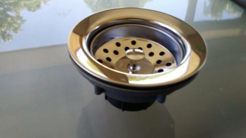 new proplus  kitchen  sink basket strainer  abs chrome 2 per pack