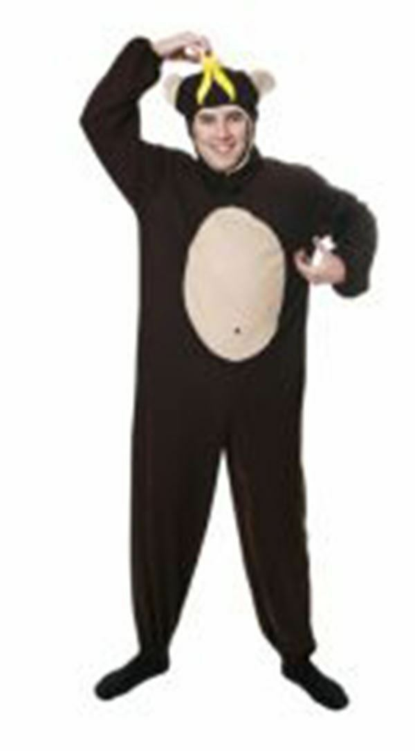Monkey Animal Jumpsuit Jumpsuit Jumpsuit Stag Do Dress Up Outfit Men's Fancy Dress Costume       New Product 2019  7ede0f