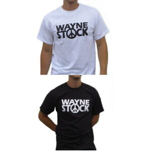 WayneStock tshirt Mike Myers Waynes World Wayne Stock