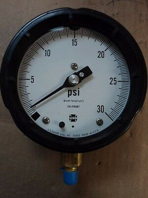 2019 Mode 1 Ea Nos Large Dial Indicating Pressure Gauge P/n: 1980-155007