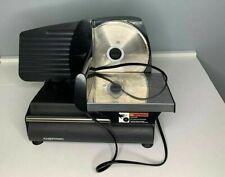 Chefman Electric Deli Amp Food Slicer Blackstainless Steel 126