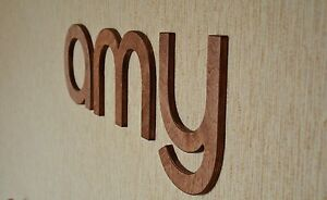 Image Is Loading 8 039 Wall Wood Letters Brown Baby