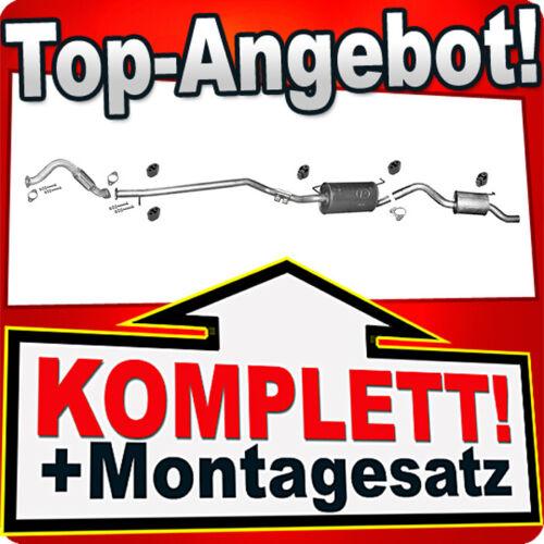 Rohr  Auspuffanlage Y77 Auspuff FORD TOURNEO and TRANSIT CONNECT 1.8 16v ab 04