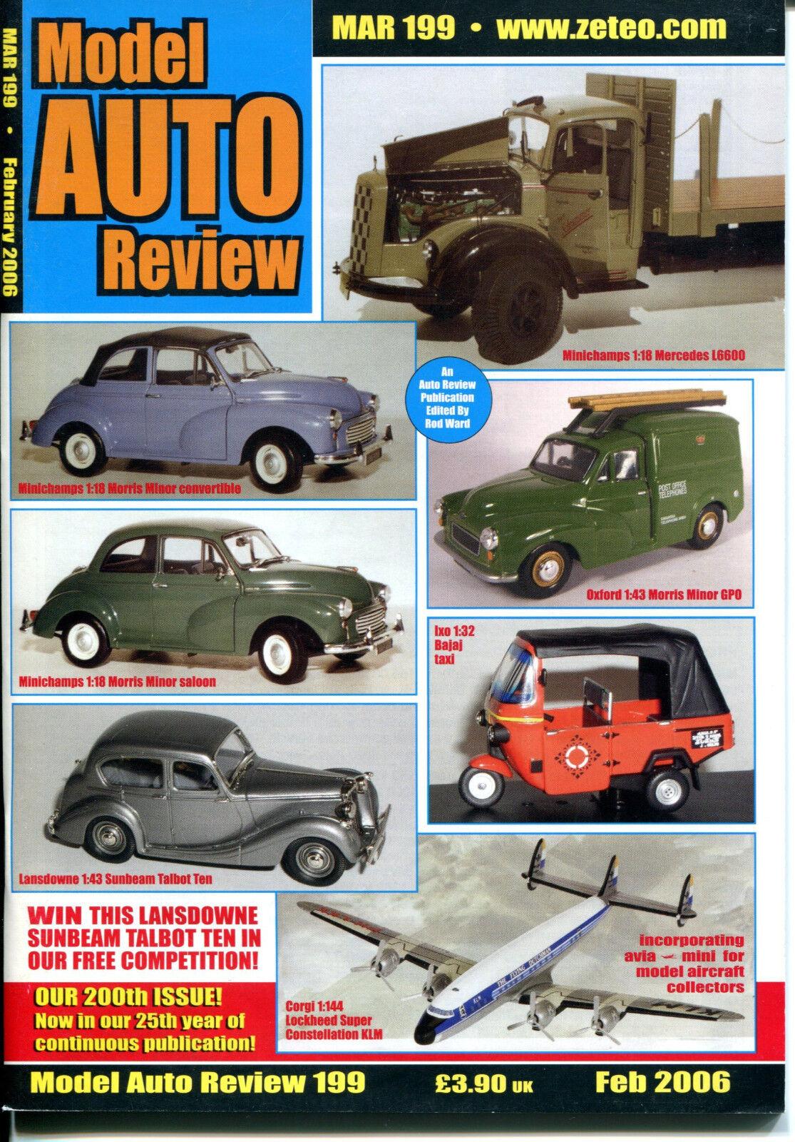 modello AUTO REVIEW (MAR) Magazine  (2006) specialee Bundle Offer - 9 nuovo ISSUES   il più recente