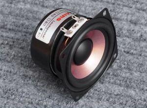 """1PCS 2.5/"""" inch 8Ω 8-15W HiFi Full Range Audio Speaker Stereo Woofer Loudspeaker"""