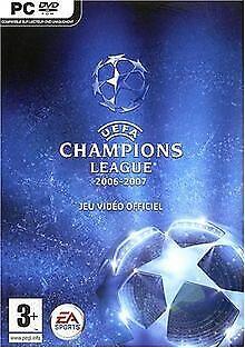UEFA Champions League 2006 - 2007 de Electronic Arts GmbH   Jeu vidéo   état bon