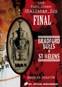 Rugby-League-Challenge-Cup-Final-1996-Bradford-Bulls-V-St-UK-IMPORT-DVD-NEW