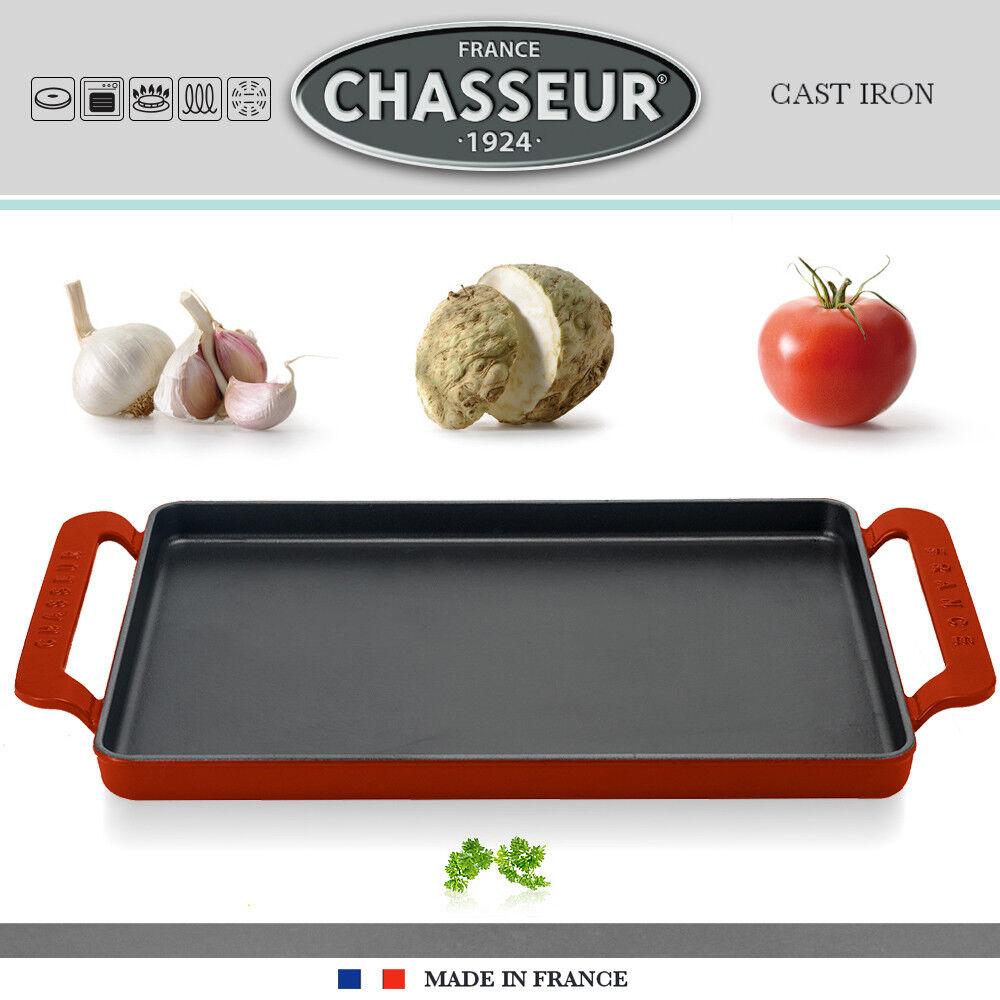 Bonne année, achat de recettes, cadeaux Chasseur-Rectangulaire 24 Plancha 42 x 24 Chasseur-Rectangulaire cm-Rouge afbcd0