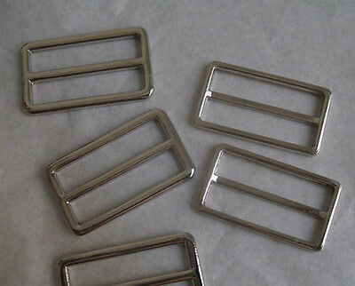 20Pc Metal Ring Buckle DIY Luggage Belt Shoe Slide Find Making Tool Diy Craft