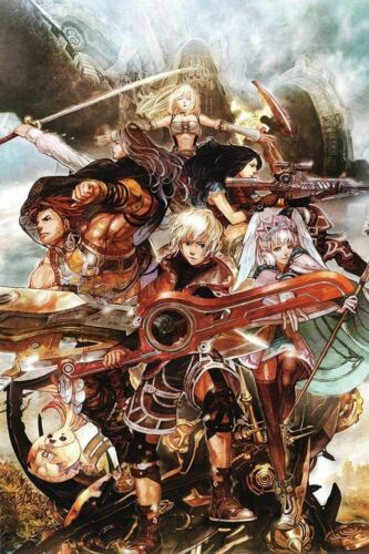 Art Poster Xenoblade Chronicles Character Hot Silk Wall Decoration D238