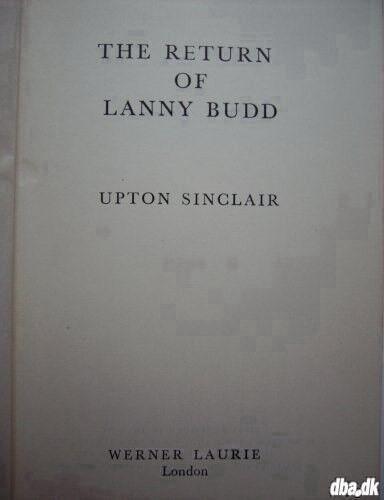 The Return Of Lanny Budd Upton Dba Kb Og Salg Af Nyt Og Brugt