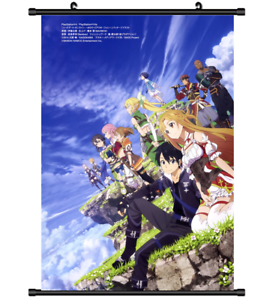 4459 Sword Art Online Anime Home Decor Poster Wall Scroll ...