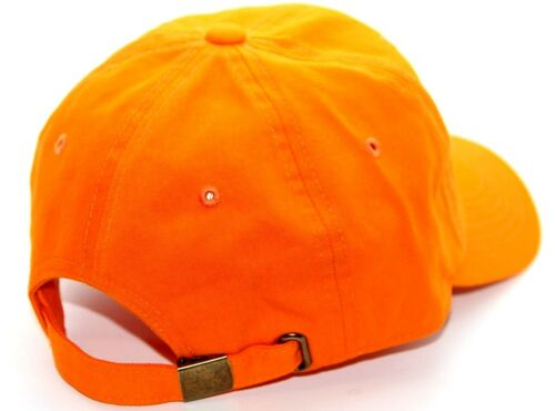 VINTAGE PLAIN BASEBALL CAP HAT ADJUSTABLE STRAP COTTON ONE SIZE FITS ALL