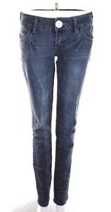 BUBBLEGUM-Womens-Size-7-8-Dark-Wash-Denim-Blue-Jeans-Boot-Cut