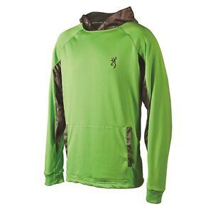 voor Oak Hoodie Mossy Camouflage Groene herenprestaties Camo flits Browning fTawxqa
